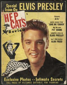 Hep Cat's Review Elvis Magazine.