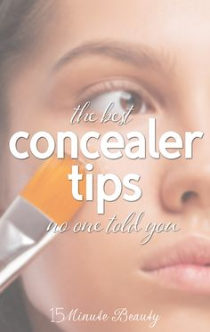 Are you using your #concealer correctly? via 15MinuteBeauty.com