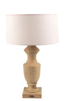 MrsBLOOM, Classic Oak Lampbase