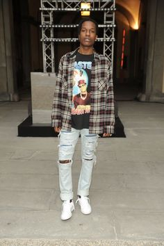 Asap Rocky Fashion 2015 The best Piece Asap Rocky Outfits, Outfit Essentials, Fashion Killa, Boy Fashion, Fashion Outfits, Fashion 2015, Fashion Clothes, Mode Streetwear, Streetwear Fashion