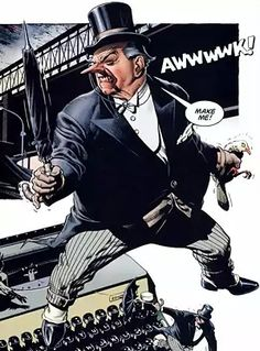 The penguin by Brian bolland