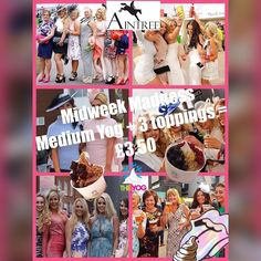 Shout out to all the fabulous ladies at last weeks #LadiesDay who are this weeks #MidweekMadness theme! Remember the deal today....Medium Yog...3 toppings....3.50! Drops mic.  #yogbar #theyogbar #ladiesday #fabulousgirls #sasssassandmoresass #frozenyogurt #deal #wednesdaydeal #offer #wirraloffer #easterhols #springbreak by theyogbar