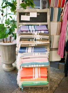 Bright Textiles in the Aix en Provence | photography by http://kalliebrynn.blogspot.com/
