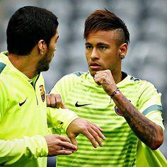 """11.05 - @neymarjr @fcbarcelona ⚽  #trainingsession #fcbarcelona #neymar #barça"""