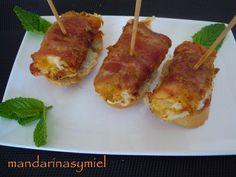 Pincho De Bacon, Pimiento Del Piquillo Y Queso.