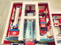 Lego City Fire Truck, Lego Truck, Fire Trucks, Awesome Lego, Cool Lego, Lego City Sets, Lego Sets, Fire Dept, Fire Department