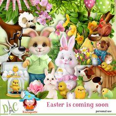 Easter is coming soon by Kastagnette [Kasta_EasterIsComingSoon] - Coming Soon, Princess Peach, Kit, Character, Easter Activities, Lettering