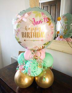 Qualatex Balloons, Mini Balloons, Wedding Balloons, Balloon Stands, Balloon Display, Balloon Garland, Happy Birthday Bouquet, Happy Birthday Balloons, Balloon Crafts