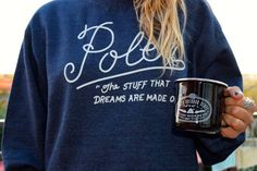 Poler Dreams pullover and Lasso camp mug out on an adventure!  #poler #polerstuff #campvibes