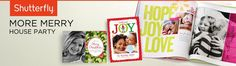Shutterfly More Merry House Party....I really really want to host this party!! #shutterflyparty