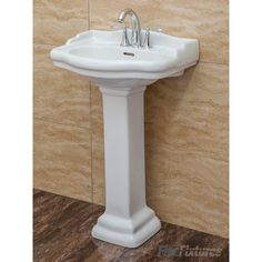 Find This Pin And More On Bathroom Things. Roosevelt Pedestal Bathroom Sink  ...