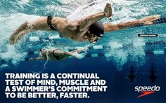 Swimmer quote