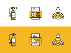 Tracking Icon Set by Jon McClure for MilesHerndon