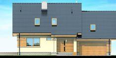 DOM.PL™ - Projekt domu DN Lisandra 2M CE - DOM PC1-60 - gotowy koszt budowy Garage Doors, Multi Story Building, Exterior, Outdoor Decor, Modern, Case, Design, Home Decor, Holiday