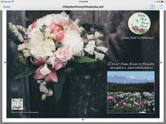My ad for Florists Review 2017