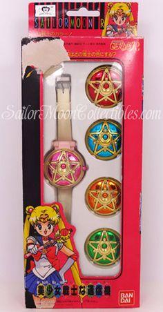 """""""sailor moon"""" """"sailor moon toy"""" """"communicator watch"""" """"sailor moon merchandise"""" """"sailor moon compact"""" """"sailor moon locket""""  anime japan merch..."""