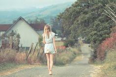 Картинка с тегом «girl, alone, and road»