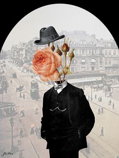 Mr Rosebloom by Loui Jover  My photo pic for the month.