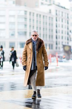 Cold Days Style Inspiration. I recently bought my... | MenStyle1- Men's Style Blog