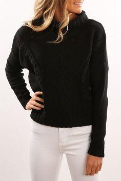 Yacht Knit Black