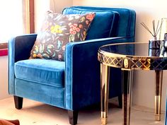 Moki Emerald   Plush velvet comfort and deluxe styling, your dream interior made easy. Personalise you're style with a durable armchair made to last. Emerald Blue, Hotel Interiors, Blue Velvet, Armchairs, Design Your Own, Accent Chairs, Plush, Lounge, Interior Design