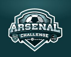 Arsenal Challenge Logo Design | More logos http://blog.logoswish.com/category/logo-inspiration-gallery/ #logo #design #inspiration