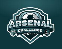 Arsenal Challenge Logo Design | More logos http://blog.logoswish.com/category/logo-inspiration-gallery/ #logo #design #inspiration