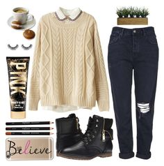 """""""Take care xo"""" by sweet-jolly-looks ❤ liked on Polyvore featuring Chicnova Fashion, Topshop, Tommy Hilfiger, Casetify and Laura Ashley"""