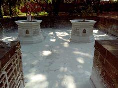 Kasturba  Gandhi Samadhi at Agakhan Palace Pune