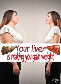 Your LIVER is Making you Gain Weight - Peek-ITPeek-IT