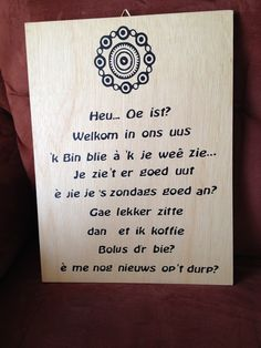Welkom bij Krealenie My Heritage, Make Me Happy, Dutch, Writing, Holiday, Quotes, How To Make, Hay, Quotations