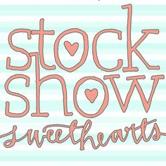 stylish clothing and accessories for the sassy stock show girl! http://agrarianapparel.com/brands/Stock-Show-Sweethearts.html