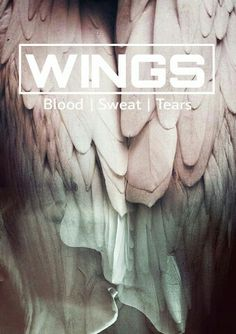#bts #lockscreen #wings #bloodsweatandtears