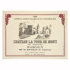 famous wine labels - Buscar con Google