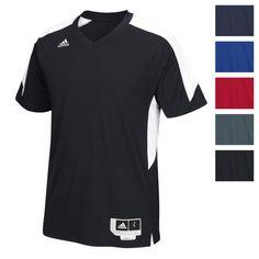 c234ec0ebefc adidas Men s Commander 15 Shooter Shirt Athletic Slim Fit Training Vent  Back Tee Adidas Men