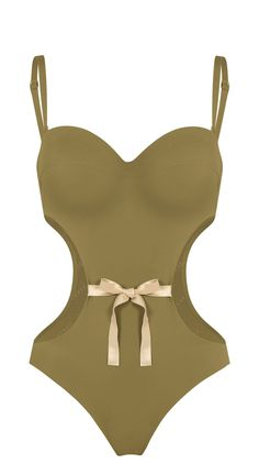 Marilyn Cut Out Swimsuit | Cut Out One Piece | Khaki | Réard Paris  https://www.reard.com/en-fr/products/marilyn-cut-out-swimsuit?taxon_id=16