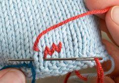 Duplicate Stitch. - looks useful!!