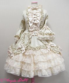 Angelic Pretty Pompadour Dress (2015)