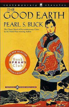 The Good Earth by Pearl S. Buck. I never read this book for summer reading for English AP, and I felt bad. I don't have the urge to read it.