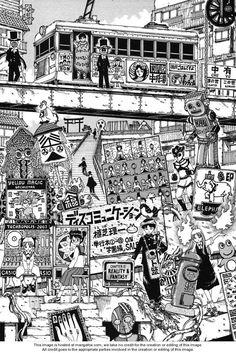 Ueshiba Riichi Manga Pages, Japan Art, Horror Art, Anime Art, Asian, Models, Comics, Architecture, Drawings