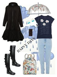 Cool set featuring my flowery rain clouds tee - April Showers💧☔🌧🌦 by parnett on Polyvore featuring polyvore, fashion, style, Prada Sport, Topshop, Hunter, INC International Concepts, Vera Bradley and clothing