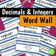 These 12 word wall pages are a great addition to your vocabulary bulletin board.  You can use them only during the unit or leave them up all year for reference.  Each page includes the word, definition, and an example.  They can easily be cut into thirds to position as you would like.