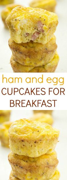 Savory home and egg cups for breakfast will impress even your mother in law! Even better than ham and egg casserole. Make ham and eggs in muffin tins for easy clean up.: