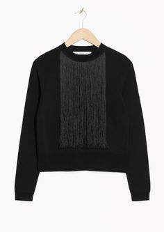 275 DKK & Other Stories | Fringe Sweater