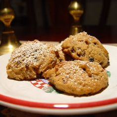 Mincemeat Cookies - If you love the flavor of spice cake, you will like these cookies.  I didn't have walnuts, but used pecans.  YUM!