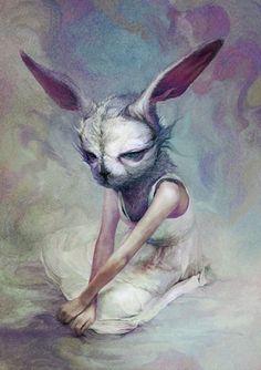 Ryohei Hase #illustration #rabbit