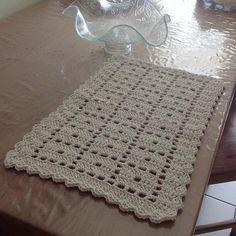 Jogo americano http://www.luciacrochet.com.br/lucia-crochet.html