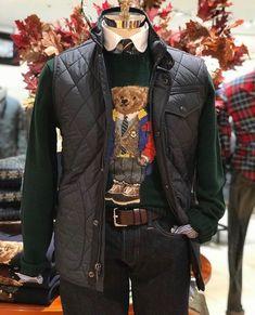 Sport Casual, Casual Wear, Polo Ralph Lauren, Menswear, Mens Fashion, My Style, Fresh Start, How To Wear, Jackets