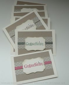 Gutschein Card
