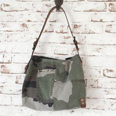 Petit sac vintage SOben www.sobenstore.bigcartel.com Couture, Camouflage, Army, Sewing, Accessories, Clothes, Kitchen, Tela, Satchel Handbags